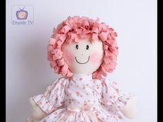 Emolde TV - Vivi Prado recebe Valéria Silverio que ensina a boneca Amora - YouTube Owl Party Favors, Prado, Youtube, Applique, Rag Dolls, How To Make Crafts, Mesh, Handmade Crafts, Handmade Toys