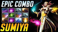 SumiYa - One of the Best INVOKER   Epic Refresher Combo with 10 skills  ...