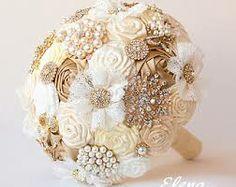 gold wedding bouquet - Google Search