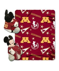 Love this Minnesota Golden Gophers Mickey Mouse Plush & Throw Set by The Northwest Company on #zulily! #zulilyfinds