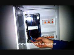 http://www.domoelectra.com/blog/cambio-instalacion-electrica-trifasica-a-monofasica Como cambiar una instalación trifásica a monofásica. #Granada