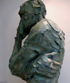 Sagace - bronze - détail