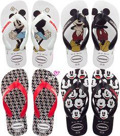 Havaianas do Mickey e da Minnie | Just Lia