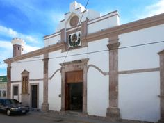The Museo Regional de Historia on Calle Cristerna is housed in the old jail of El Rosario, Sinaloa, Mexico.
