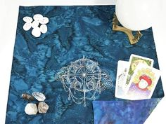 Tarot Spread Cloth Sky Compass