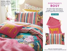 Joules Bedding - Everything's rosy