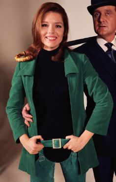 diana rigg (and patrick macnee in the avengers)