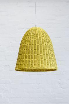 Bamboo spiral light shade lemon hanging things pinterest medium rattan pendant light shade lemon mozeypictures Image collections