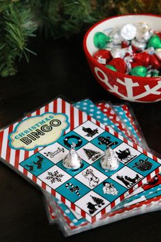 How to play Christmas Book Bingo using Bingo Boards from @The Crafting Chicks