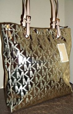 mikael kors shoes metallic mirror black mk purses