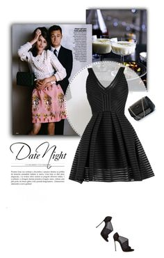 """Date Night"" by firstboutique ❤ liked on Polyvore featuring black"
