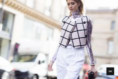 J'ai Perdu Ma Veste / Elena Perminova – Paris.  // #Fashion, #FashionBlog, #FashionBlogger, #Ootd, #OutfitOfTheDay, #StreetStyle, #Style