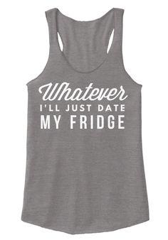 I'll Date My Fridge Eco Grey