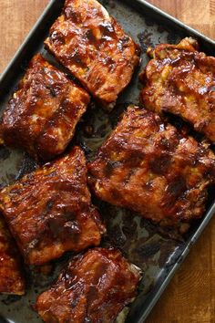 You guys asked for more Instant Pot recipes so here you go!! No one is paying me to say this (hah) but I TRULY think this recipe alone is worth the price of the Instant Pot. It's just so easy. We love ribs and even though I have a great slow cooker recipe already, it takes hours. This, on the other hand, takes about an hour – start to finish. The ribs actually cook for 35 minutes but then you have to factor in the time it takes for the pot to heat up and cool down…so about an hour overall…