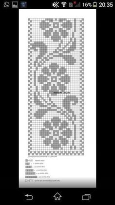 Beautiful Crochet Model For Mat Crochet Lace Edging, Crochet Borders, Crochet Chart, Filet Crochet, Crochet Doilies, Crochet Stitches, Crochet Patterns, Crochet Wall Hangings, Crochet Curtains