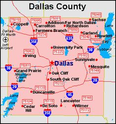 30 Best Dallas Relocation images in 2017 | Dallas apartment ... Dallas County Zip Code Map on