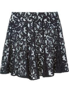 MICHAEL MICHAEL KORS Layered Lace Skirt. #michaelmichaelkors #cloth #skirt