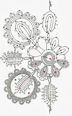 222   Uncinetto e crochet: Tre meravigliosi quadrati all'uncinetto crochet