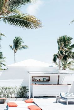 Late Summer Vibes - Summer has arrived and it's reaching its peak! Within the Summer Vibes of this season, most people want to refres Hotel Marseille, Summer Vibes, Outdoor Spaces, Outdoor Living, Outdoor Pool, Houses Architecture, Cereal Magazine, Turbulence Deco, St Barts