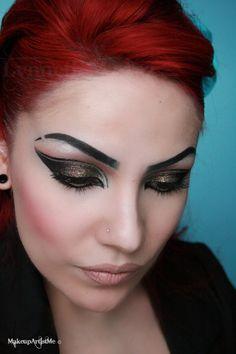 Make-up Artist Me!-- Rock Star! makeup look (no tutorial)