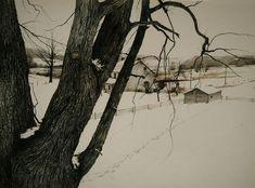 Andrew Wyeth - February 2nd 1942 (1942)