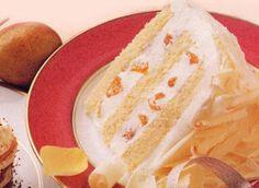 White Chocolate Mousse Cake