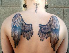 My #wings #tattoos