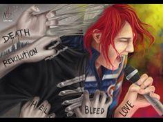 My Chemical Romance | Gerard Way | incredible fan art
