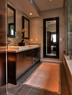 5 Stunning Bathrooms by Candice Olson | home sweet home | Pinterest on