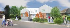 Little Alpha Academy Early Learning Centre by XOTTA Architects Learning Centers, Early Learning, Beautiful Architecture, Architecture Design, Architects, Building A House, Centre, Street View, Australia