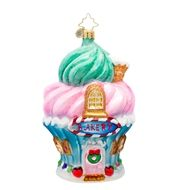Christopher Radko Baked to Perfection Bakery Christmas Ornament