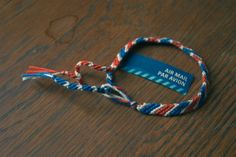 Today's keyword is air mail! I love air mail related things, probably because I love receiving mail. Lots of fun air mail related items out . Embroidery Alphabet, Learn Embroidery, Cute Bracelets, Beaded Bracelets, Diy Bracelet, Looks Vintage, Mail Art, Little Gifts, Jewelry Crafts