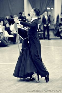 Ballroom / dancesport couple Bogdan Ianosi & Stefanie Pavelic www.theballroomshow.com