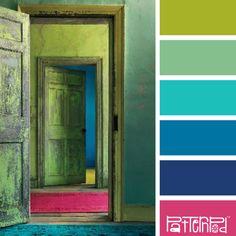 Door Delight #patternpod #patternpodcolor #color #colorpalettes