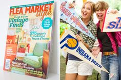 Flea Market Style Magazine | Ki Nassauer | The Lettered Cottage | Pennant Banners