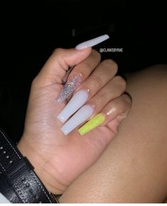 Installation of acrylic or gel nails - My Nails Drip Nails, Aycrlic Nails, Bling Nails, Best Acrylic Nails, Summer Acrylic Nails, Acrylic Nail Designs, Nagel Bling, Claw Nails, Coffin Nails Long