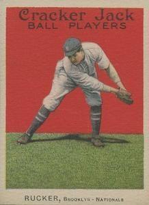 1914 Cracker Jack (E145) #51 Nap Rucker Front