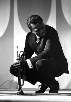 Miles Davis, Monterey Jazz Festival, 1964 by jerry stoll    SPECIAL FOR MY TASTE