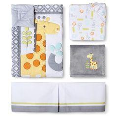 Circo® Snooz 'n Safari 4pc Crib Bedding Set --target