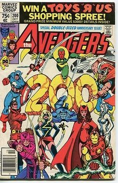 For sale avengers 200 marvel comics ms marvel first marcus immortus comic book emorys memories. The Avengers, Avengers Comics, Marvel Comic Books, Comic Books Art, Avengers Characters, Comic Art, Book Characters, Ms Marvel, Marvel Girls