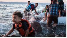 Αν ήταν ο γιος σου... - The Mamagers.gr Rough Seas, Syrian Refugees, Rafting, Europe, Fish, Aleppo, Beautiful, Pisces