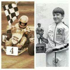 A Very Young Tony Stewart! #OLDSCHOOLNASCAR