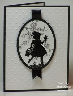 Stamping with Klass: Sweet Silhouette