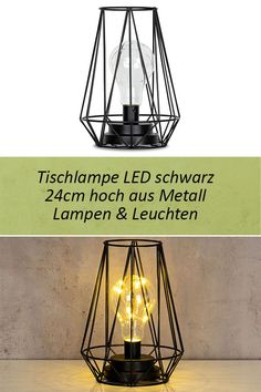 2 LED Flaschen Lampen Leuchten Lichterkette Laterne Nostalgie Garten Balkon gelb