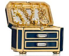 Estee Lauder Precious Jewels Perfume Compact limited edition with Tuberose Gardenia    2014