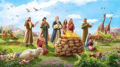 La bendición de Dios a Noé después del diluvio 神话朗诵类: