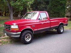 Ford F  Regular Cab Long Bed