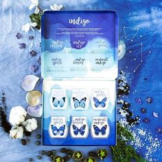 CLOSING AN ORDER TODAY! Indigo by Scentsy is now available! Explore the entire collection and its many moods. ☁️❄️ This set comes with 6 EXCLUSIVE scents in a beautiful gift box for $30 while supplies last: -Midnight Indigo -Indigo Berries -Indigo Spirit -Indigo Petals -Indigo Ice -Indigo Cotton https://jackyrenteria.scentsy.us/Buy/Category/3376