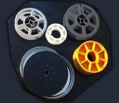 reels, cores, film