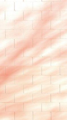 Peach Wallpaper, Unique Wallpaper, Brick Wallpaper, Aesthetic Pastel Wallpaper, Cute Wallpaper Backgrounds, Wallpaper Iphone Cute, Pretty Wallpapers, Aesthetic Wallpapers, Iphone Wallpapers